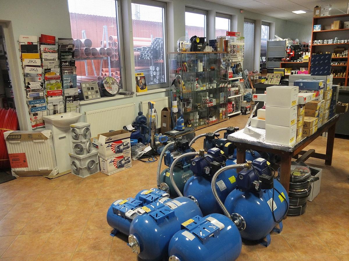 Predaj vodoinštalatérskeho a kúrenárskeho tovaru Martin 484167558ac